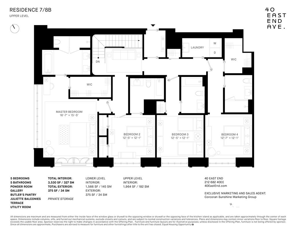 40 East End Avenue 7/8B Upper East Side New York NY 10028
