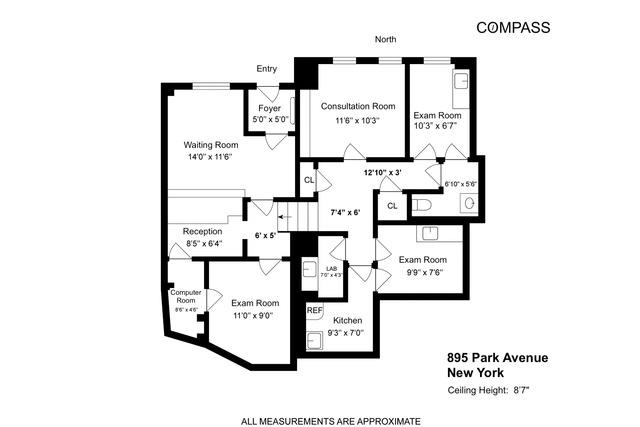 895 Park Avenue Upper East Side New York NY 10075