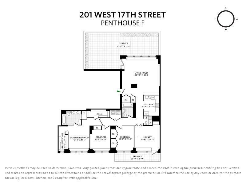 201 West 17th Street Chelsea New York NY 10011