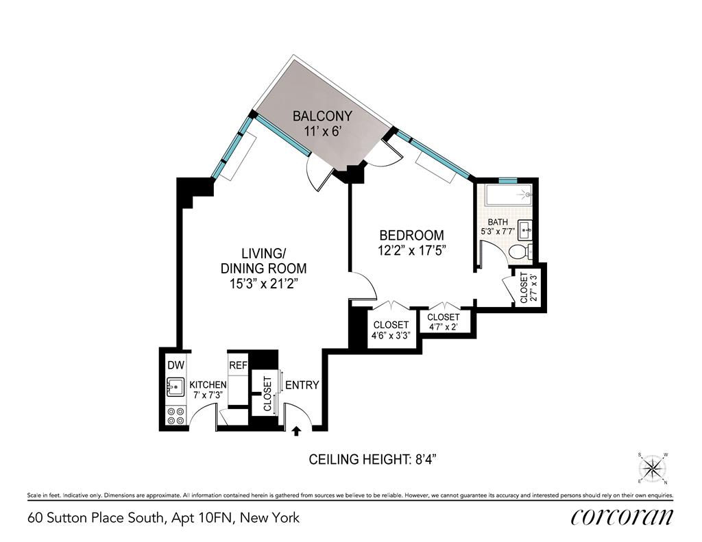 60 Sutton Place South Sutton Place New York NY 10022