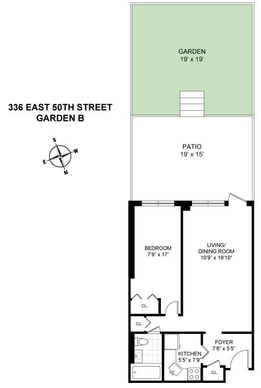 336 East 50th Street Turtle Bay New York NY 10022