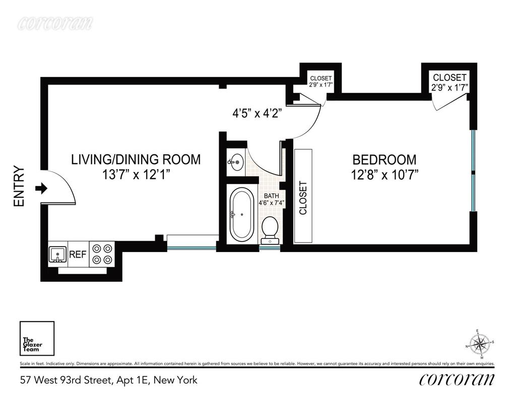 57 West 93rd Street Upper West Side New York NY 10025