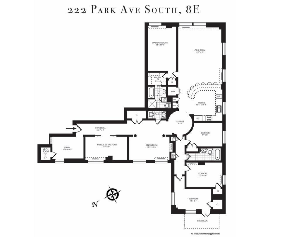 222 Park Avenue South Flatiron District New York NY 10003