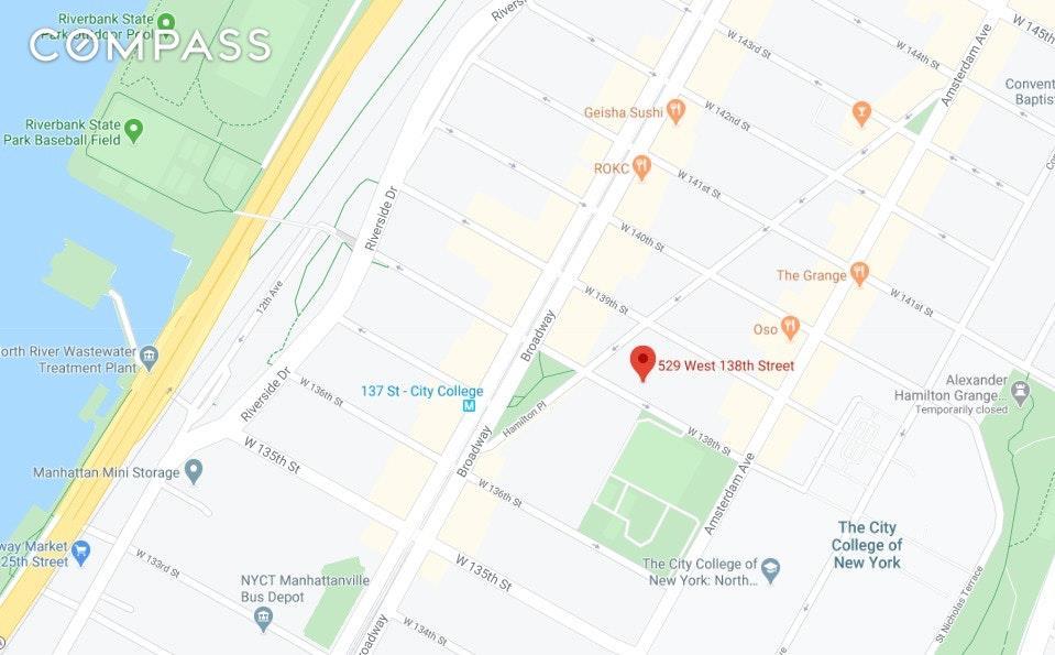 529 West 138th Street Hamilton Heights New York NY 10031
