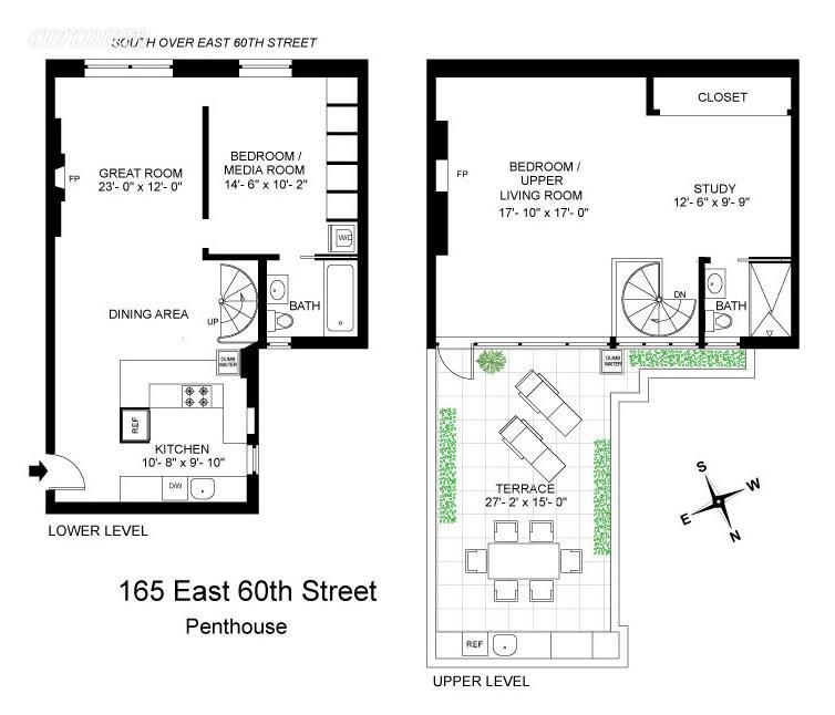165 East 60th Street Upper East Side New York NY 10022