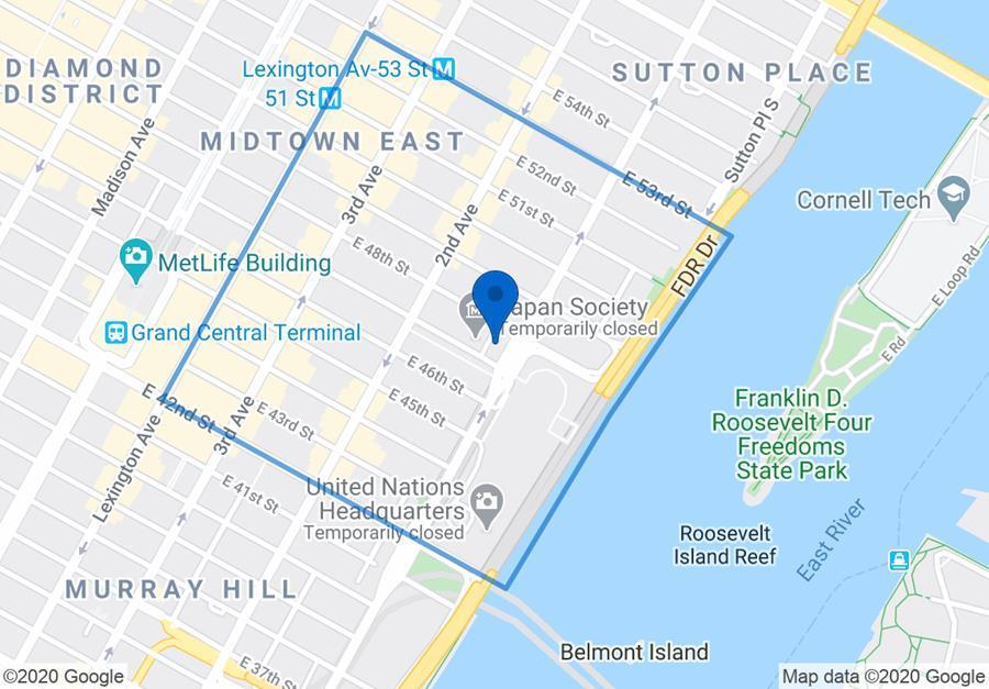 845 United Nations Plaza Turtle Bay New York NY 10017