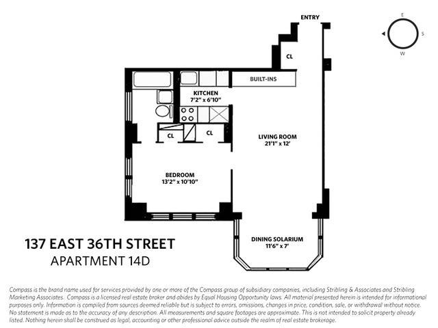 137 East 36th Street Murray Hill New York NY 10016