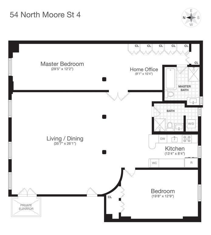 54 North Moore Street Tribeca New York NY 10013