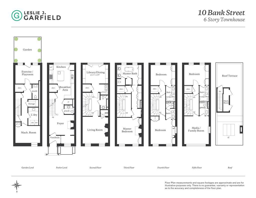 10 Bank Street W. Greenwich Village New York NY 10014