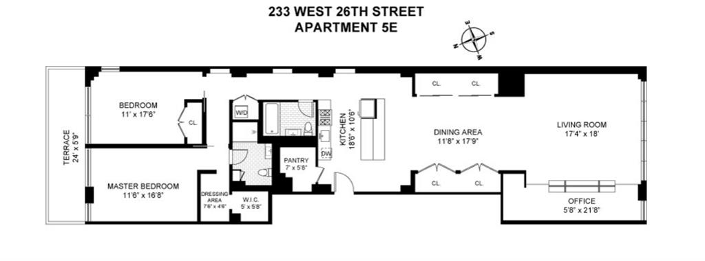 233 West 26th Street Chelsea New York NY 10001