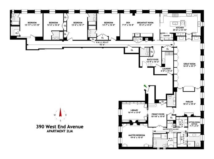 390 West End Avenue 2LM Upper West Side New York NY 10024