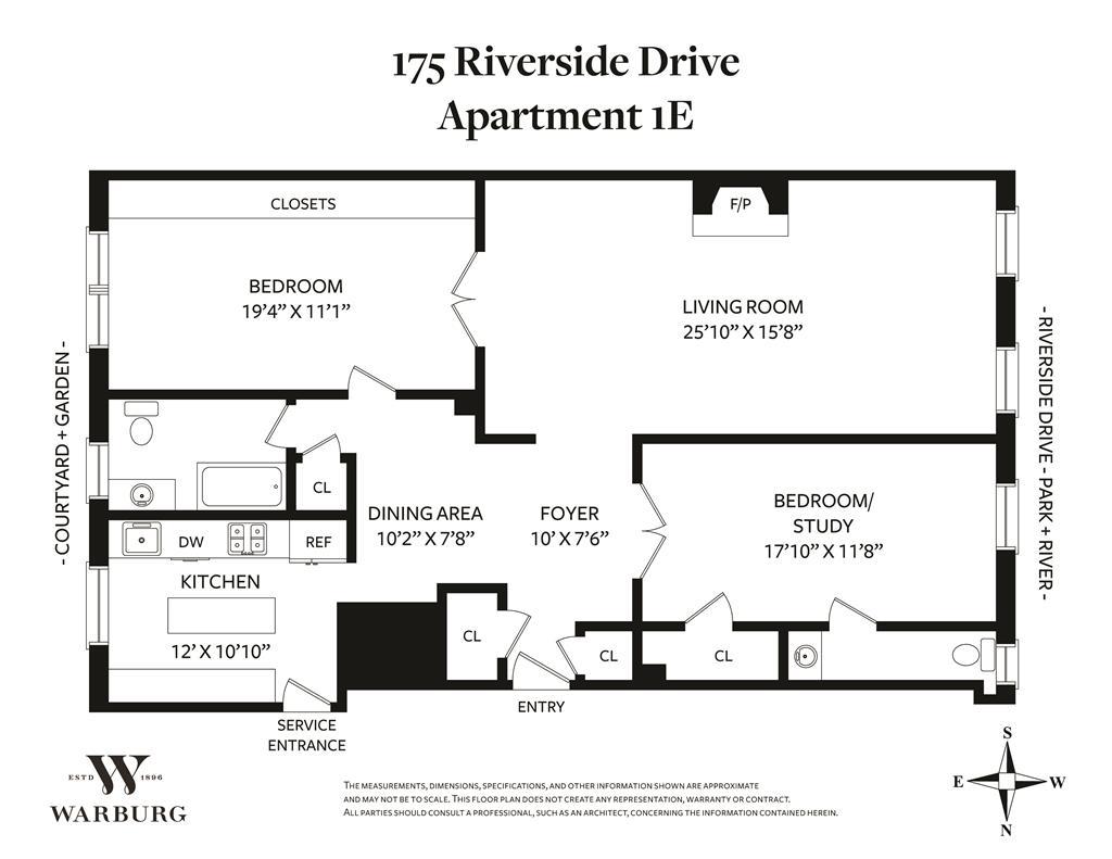 173-175 Riverside Drive Upper West Side New York NY 10024