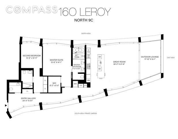 160 Leroy Street 9-CN W. Greenwich Village New York NY 10014
