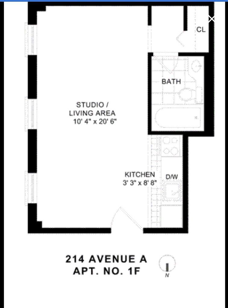 214-216 Avenue A E. Greenwich Village New York NY 10009