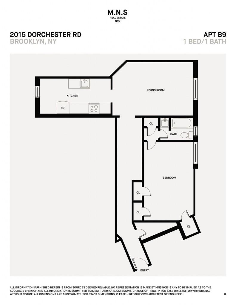 2015 Dorchester Road B-9 Ditmas Park Brooklyn NY 11226