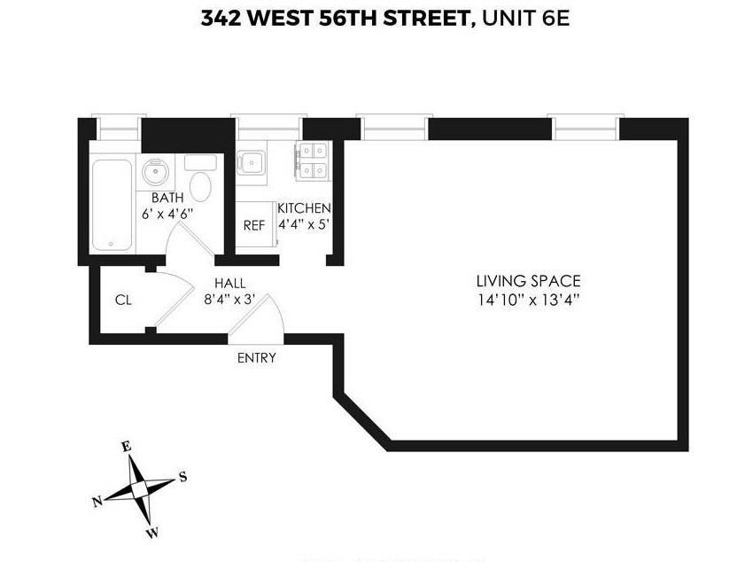 342 West 56th Street Clinton New York NY 10019