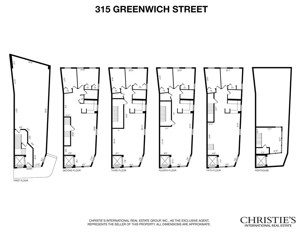 315 Greenwich Street Tribeca New York NY 10013
