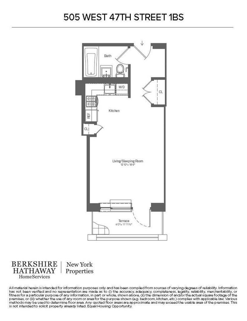 505 West 47th Street Clinton New York NY 10036