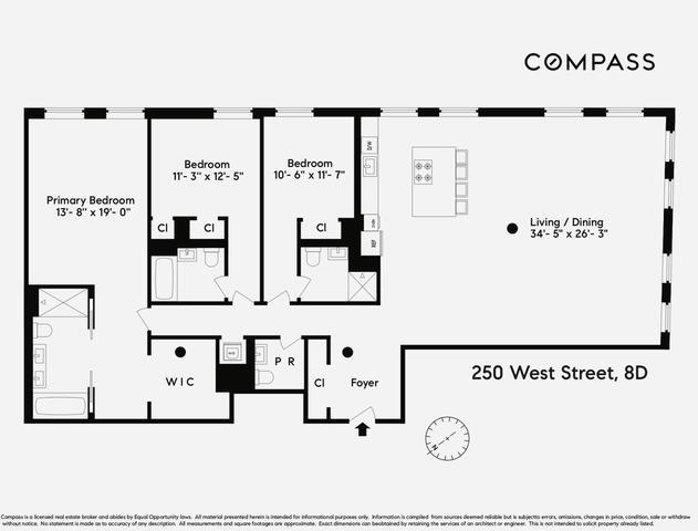 250 West Street 8-D Tribeca New York NY 10013