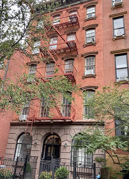 51 Jane Street 6 W. Greenwich Village New York NY 10014
