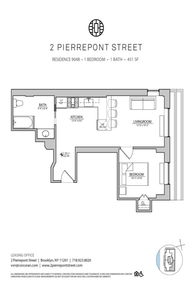2 Pierrepont Street Brooklyn Heights Brooklyn NY 11201