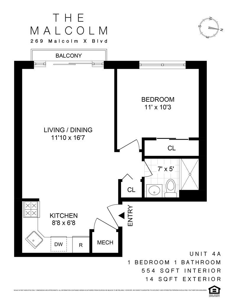 269 Malcolm X Blvd. Bedford Stuyvesant Brooklyn NY 11233