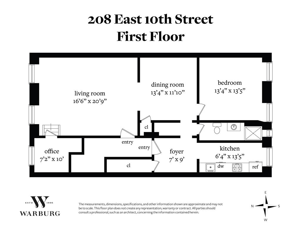 208 East 10th Street E. Greenwich Village New York NY 10003