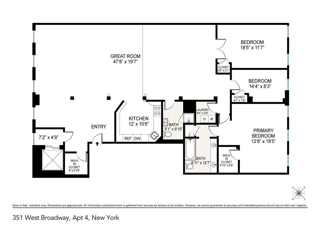 351 West Broadway Soho New York NY 10013