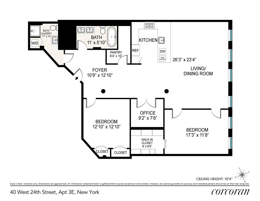 40 West 24th Street Flatiron District New York NY 10011