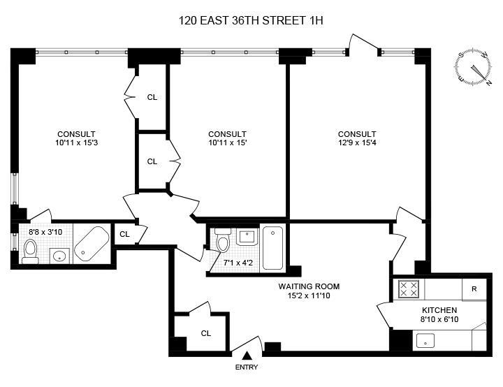 120 East 36th Street 1H Murray Hill New York NY 10016