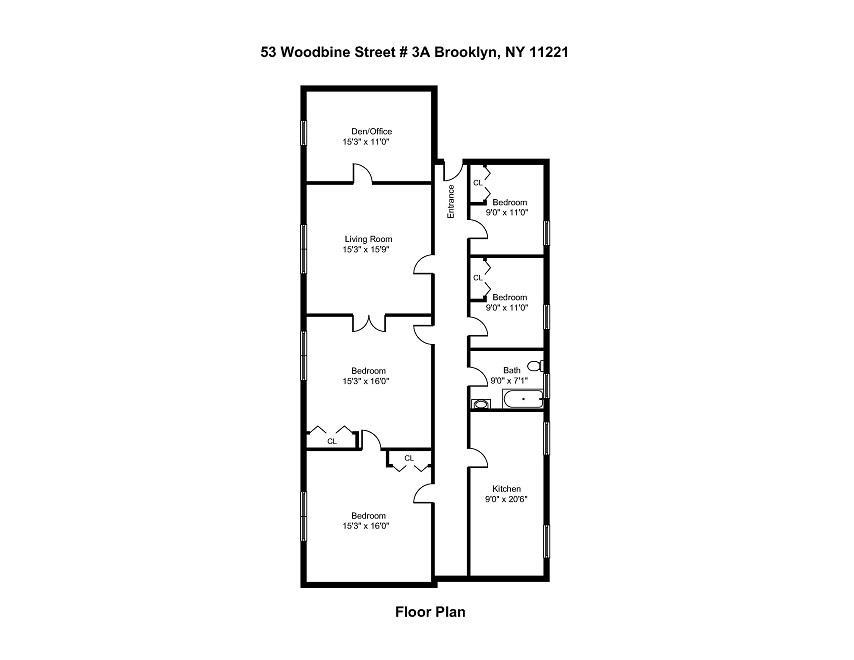 1095 Bushwick Avenue Bushwick Brooklyn NY 11221