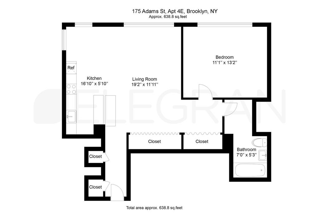 175 Adams Street 4-E Downtown Brooklyn NY 11201