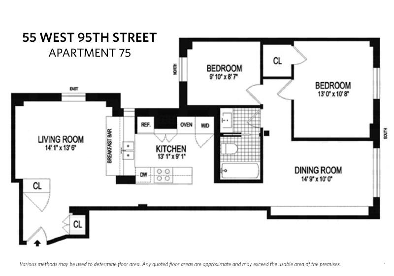 55 West 95th Street 75 Upper West Side New York NY 10025