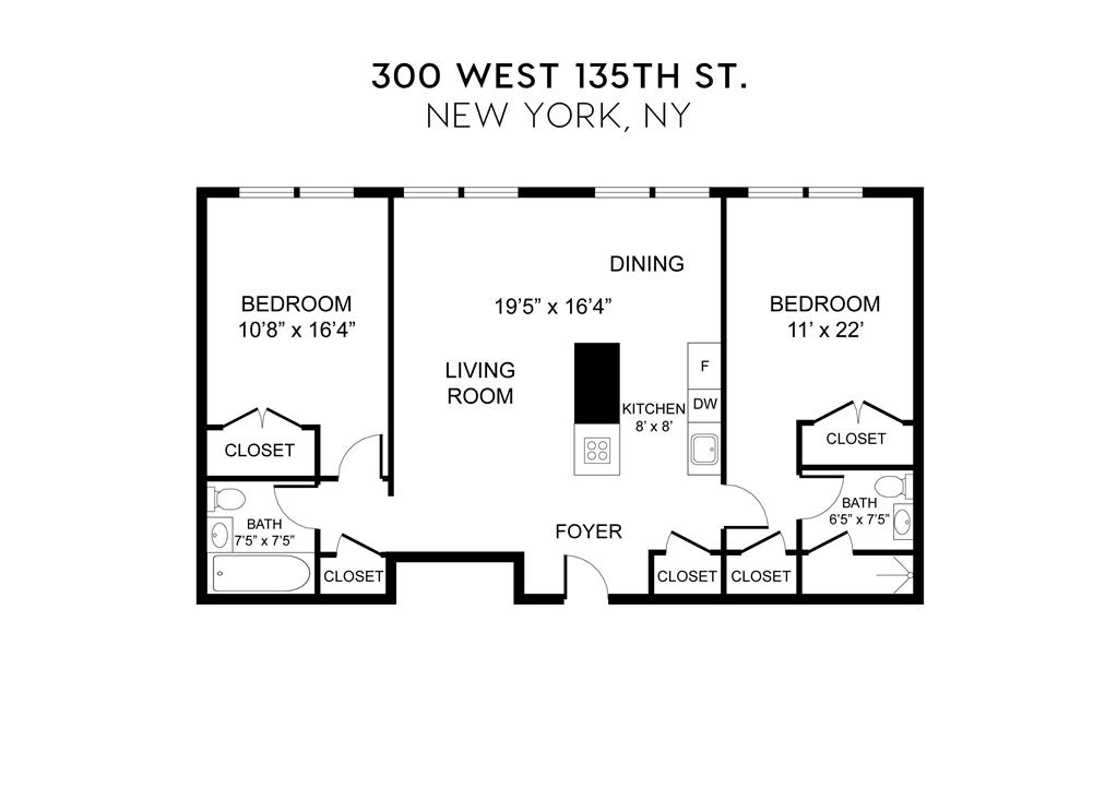 300 West 135th Street West Harlem New York NY 10030