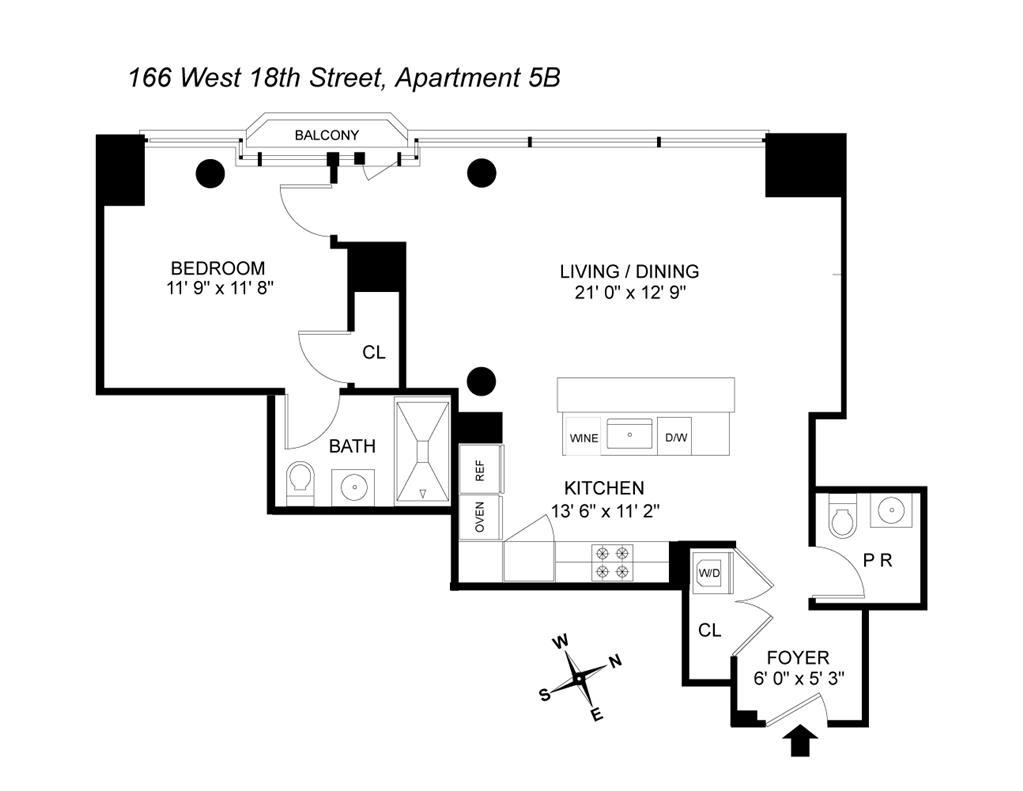 166 West 18th Street Chelsea New York NY 10011