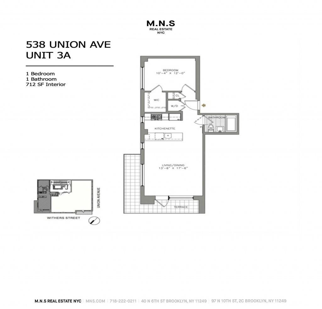 538 Union Avenue Williamsburg Brooklyn NY 11211
