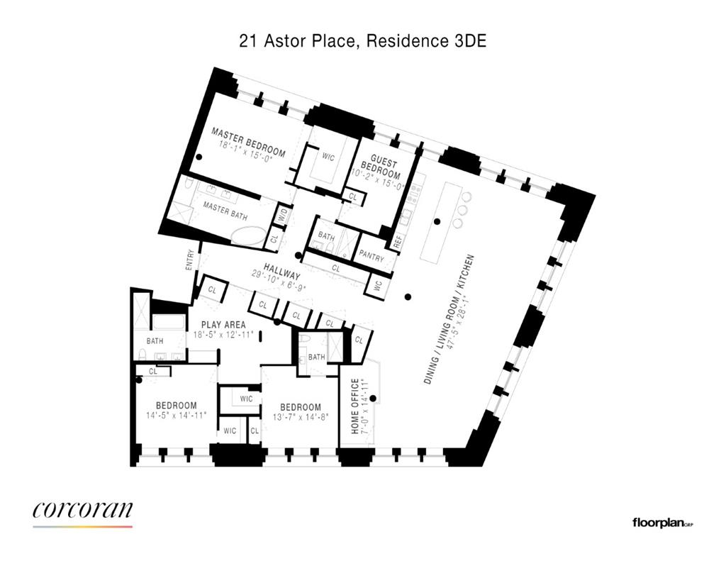 21 Astor Place Greenwich Village New York NY 10003