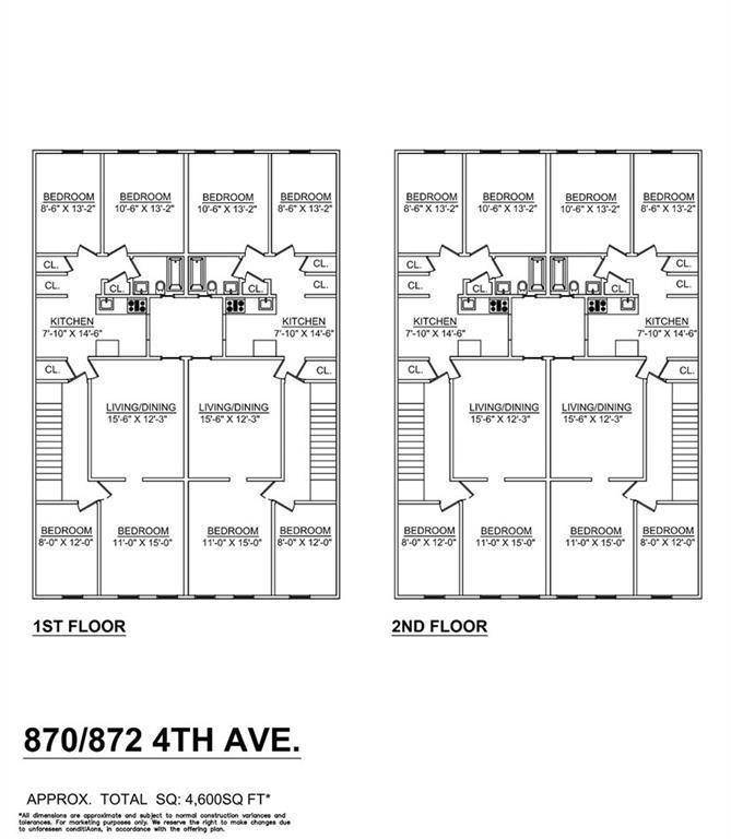 870-872 4 Avenue Sunset Park Brooklyn NY 11232