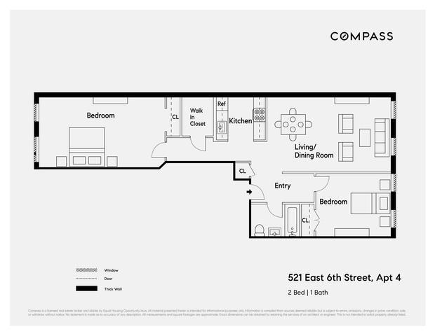 521 East 6th Street E. Greenwich Village New York NY 10009