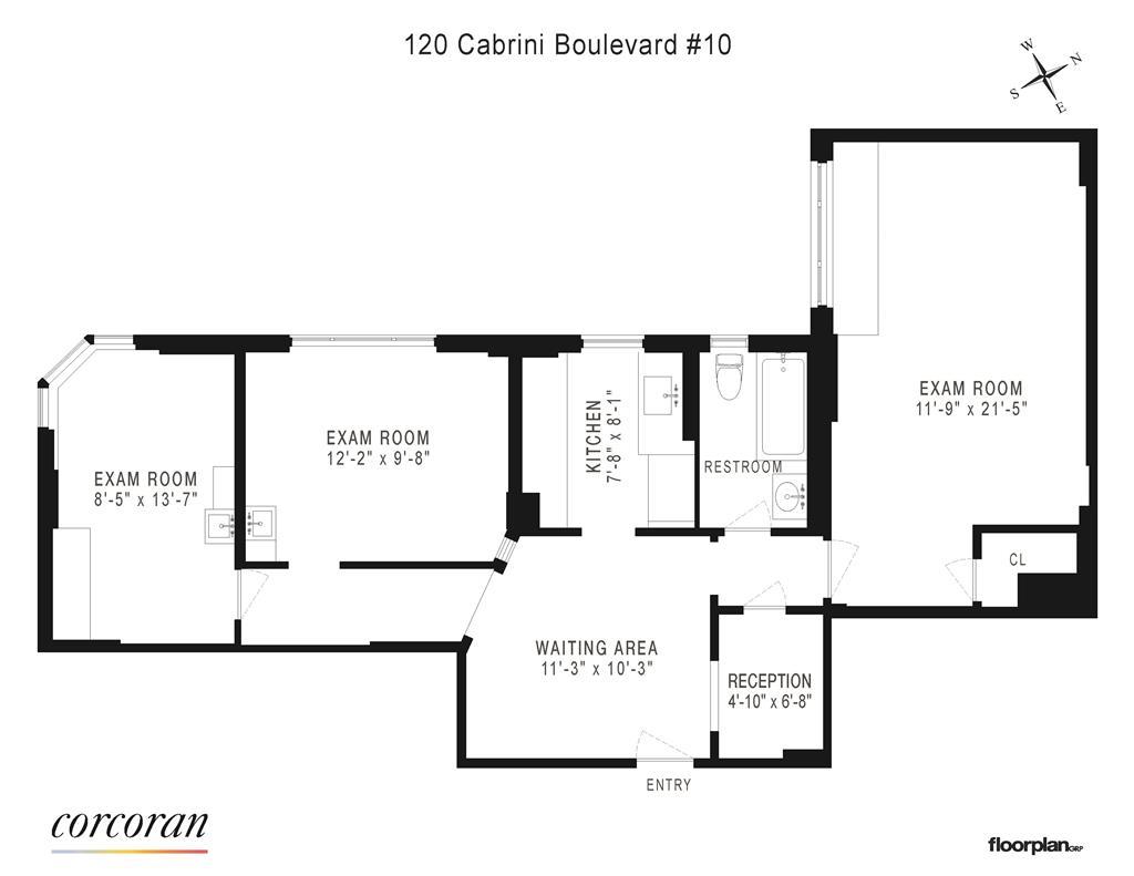 120 Cabrini Boulevard 10 Hudson Heights New York NY 10033