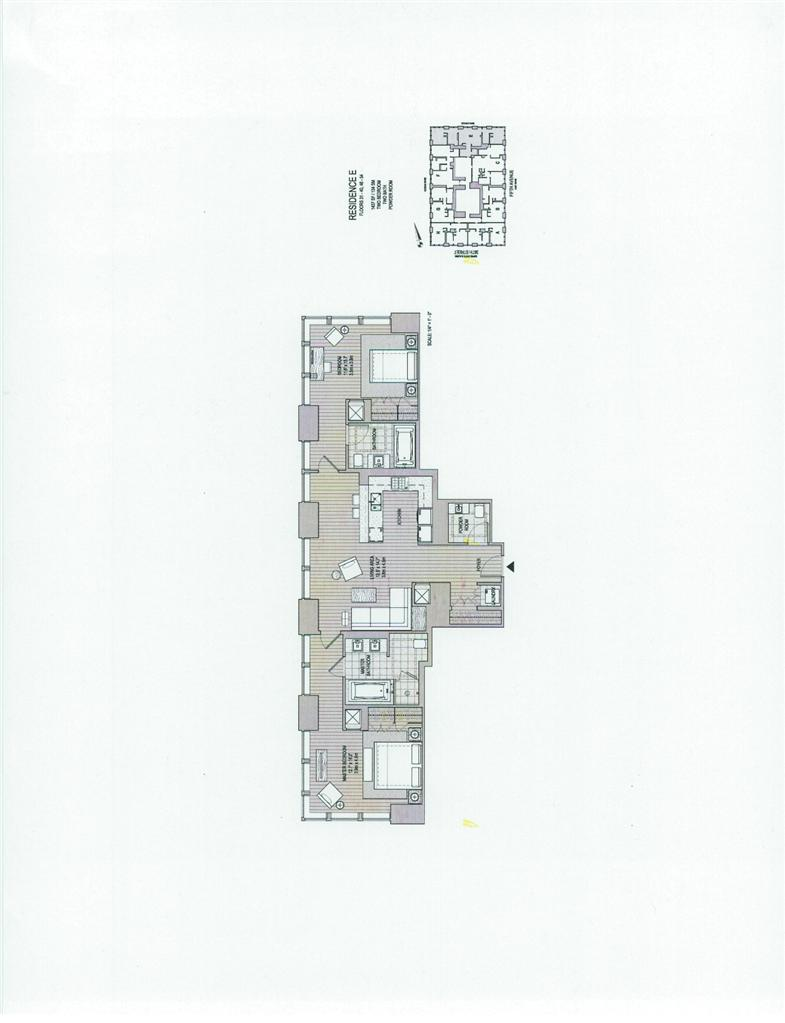 Triumph Property Group Ltd 455 West 20th Street Chelsea New York Schematic Diagram 9790 Ny