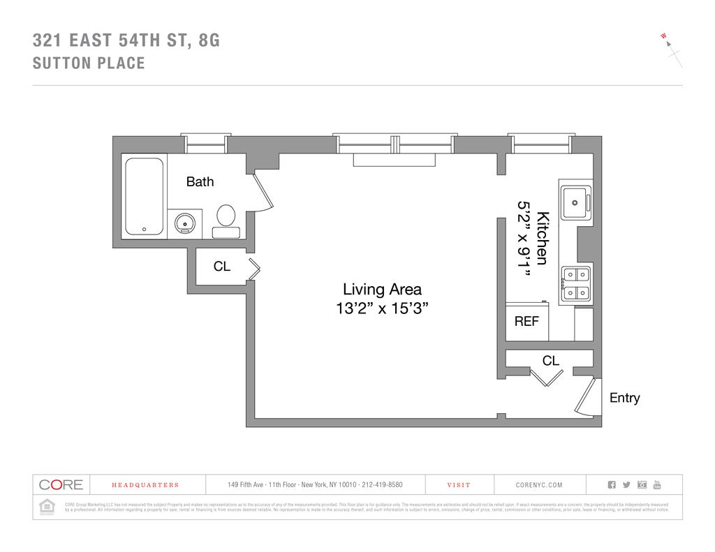 321 East 54th Street 8G Sutton Place New York NY 10022
