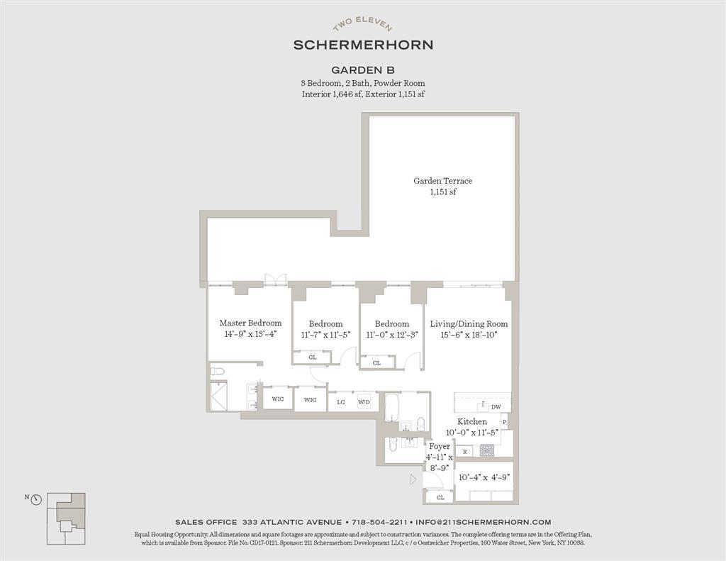 211 Schermerhorn Street Garden B Downtown Brooklyn NY 11201
