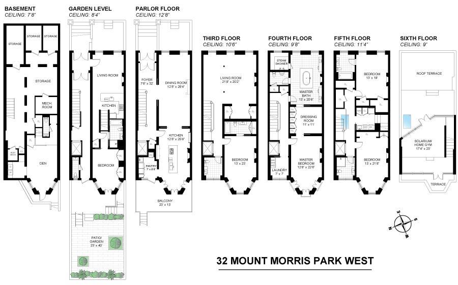 32 Mount Morris Park West Mt. Morris Park New York NY 10027
