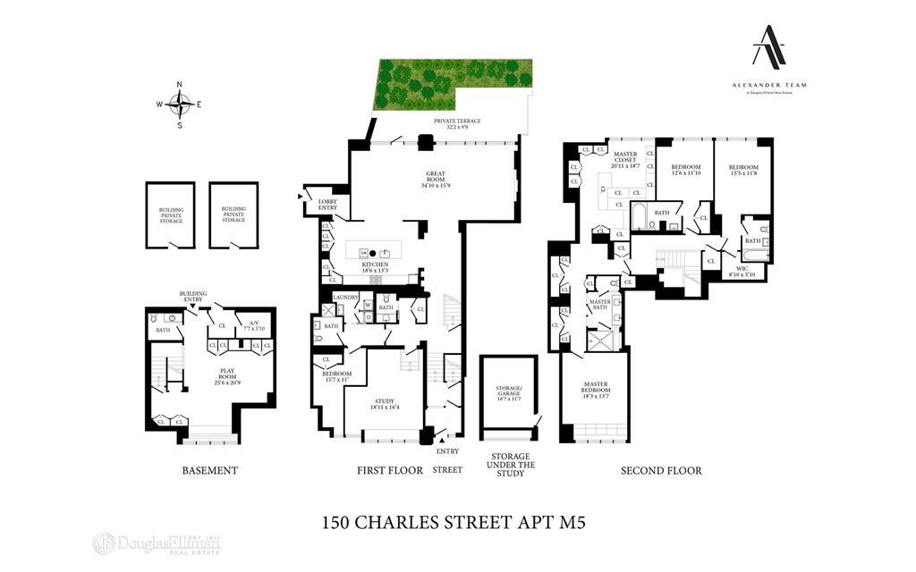 150 Charles Street M5 W. Greenwich Village New York NY 10014